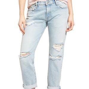 Current Elliott The Fling Alta Destroyed Jeans New